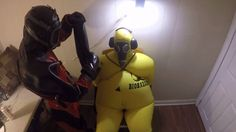 Here are some rare footage of a rubber alien capturing and torturing a latex hazmat!! You like what you saw And want to support me: https://www.patreon.com/i...