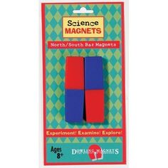 Dowling Magnets North/South Bar Magnet