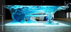 Concept - ice world, Gazprom on Behance
