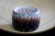 Частый шеврон с переходом цвета. Полимерная глина (кейн) - Ярмарка Мастеров - ручная работа, handmade