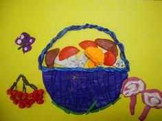 «Осенние натюрморты» в технике пластилинография - Для воспитателей детских садов - Маам.ру