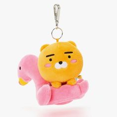 Kakao Friends Official Goods Summer Mini Plush Doll Ryan Bag Charm Accessory #KakaoFriends