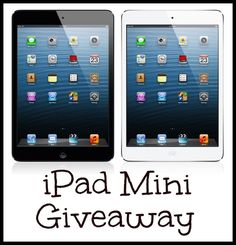 iPad Mini Giveaway: ends 6/30