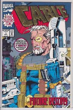 Cable #1 Marvel Comics 1993 Vol. 1 series Deadpool Movie X-men Bishop