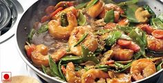 stir fried szechuan #prawns recipe #seafood #nonveg #nonvegetarian #food #foodie #prawn #spicy #delicious #food #foodie #cooking #recipes