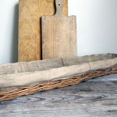 French Bread Basket and boards