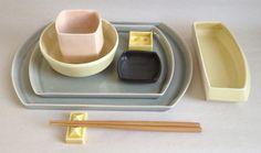 dinnerware sets handmade | Piece Handmade Porcelain Dinnerware Set by heathermaerickson. Plain ,simply and sweet. Perfection in form.