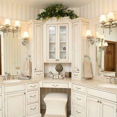 Small Corner Bathroom Sink Design Ideas : Corner Bathroom Vanity ...