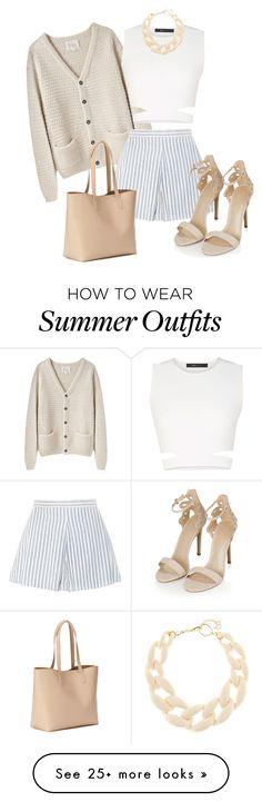 """""""Sin título #236"""" by agustina-graziano on Polyvore featuring La Garçonne Moderne, BCBGMAXAZRIA, DIANA BROUSSARD, Topshop and Old Navy"""