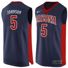 Men Arizona Wildcats  5 Stanley Johnson College Basketball Jerseys Sale-Navy b8b9689a9f37