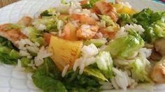 Ensalada de arroz, pavo y piña-http://unachispadesabor.blogspot.com/2016/03/ensalada-de-arroz-pavo-y-pina.html - Blog cocina Una Chispa de Sabor #UCDS #ensaladas #arroz #polloypavo