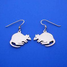 Silver Quokka Earrings by ijewellery