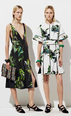 Proenza Schouler went tropical for Resort 2016