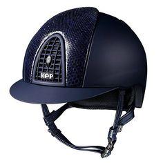 www.horsealot.com, the equestrian social network for riders & horse lovers   Equestrian Fashion : Kep Italia blue croco helmet.