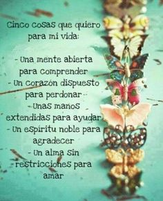 quotes in spanish Good Thoughts, Positive Thoughts, Positive Quotes, Butterfly Quotes, Frases Humor, Something To Remember, God Loves Me, Spanish Quotes, Encouragement Quotes
