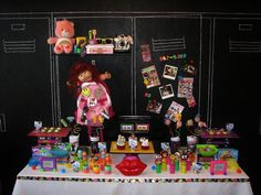 Hostess with the Mostess® - Growing up 80's!  Love the oreos pop, tetris rice krispie pops and the cake pops     80's party