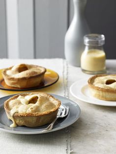 PEAR AND CUSTARD PIES | recipe EMMA KNOWLES photography CHRIS CHEN
