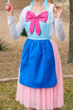 Teen/ Adult Fairy Godmother Cinderella Disney inspired Costume APRON. For Women sizes 0-12 Halloween Birthday Party Photo Prop Dress up play by QueenElizabethAprons on Etsy https://www.etsy.com/listing/247901175/teen-adult-fairy-godmother-cinderella