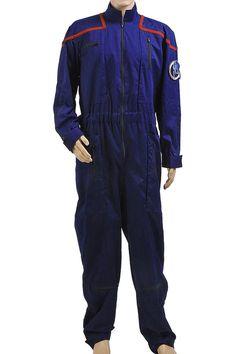 Halloween Costume Star Trek Enterprise Duty Uniform Jumpsuit #Handmade #Jumpsuit