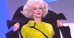 Se quedan en silencio cuando esta mujer de 85 años camina por la pasarela mejor que una joven modelo #viral