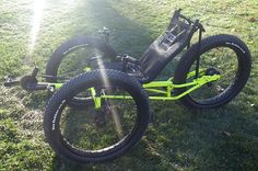Utah Trikes - UTCustom Fat Tad Crawler Recumbent Trike