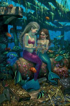 Angels Of The Deep * Mermaid Myth Mythical Mystical Legend Mermaids Siren Fantasy Ocean Sea Enchantment Sirens Meerjungfrau sirène sirena Русалка pannu havfrue zeemeermin merenneito syrenka sereia sjöjungfrun sellő Fantasy Unicorn, Diy Unicorn, Fantasy Mermaids, Mermaids And Mermen, Fantasy Art, Pics Of Mermaids, Mermaid Artwork, Mermaid Photos, Mermaid Paintings