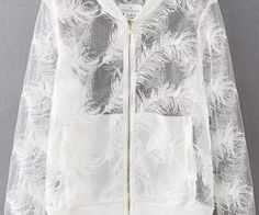 White Long Sleeve Feather Embroidered Jacket. Fashion : Tops : Jackets White Long Sleeve Feather Embroidered Jacket - See more at: http://spenditonthis.com/cat-13-fashion-newest.html#sthash.vLaB52JT.dpuf