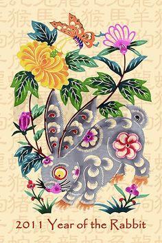 Chinese folk-art style