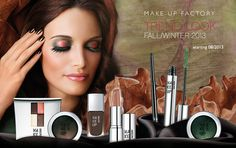 Make Up Factory Fall Winter 2013 Makeup Collection