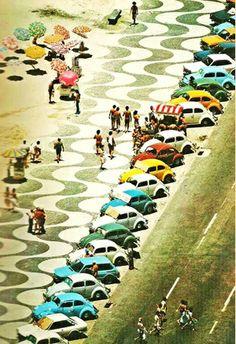 Vintage Copacabana. #vintage #beach #holiday