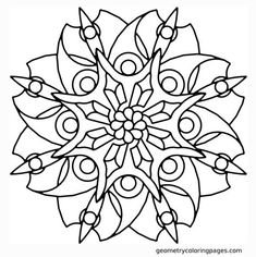 Geometric and abstract this is a modern mandala coloring page for adults to print and color in. Description from pinterest.com. I searched for this on bing.com/images