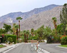 Bike ride in Palm Springs