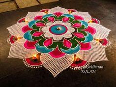 Rangoli designs diwali - 51 Diwali Rangoli Designs Simple and Beautiful – Rangoli designs diwali Indian Rangoli Designs, Rangoli Designs Latest, Simple Rangoli Designs Images, Rangoli Designs Flower, Rangoli Border Designs, Colorful Rangoli Designs, Flower Rangoli, Beautiful Rangoli Designs, Latest Rangoli