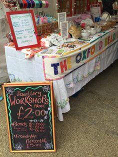Pop up shop & mini workshops craft fair displays, bead shop, craft fairs, Dinners For Kids, Dinner Recipes For Kids, Healthy Dinner Recipes, Kids Meals, O Beads, Craft Fair Displays, Bracelet Crafts, Bracelets, Cheesy Recipes