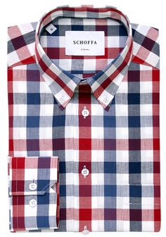 Carterton Red Men's Casual Shirt