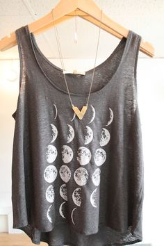 simple shirt. worn with colored denim shorts, and sleeveless denim ombre shirt would be too cute!