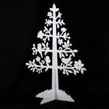 Metal Cut out Christmas Tree Large - Celebrating Christmas