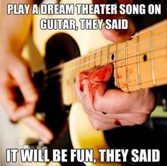 See what you've done John Petrucci?