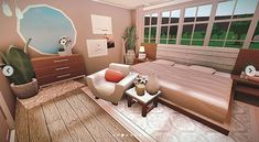 Tiny House Bedroom, Bedroom House Plans, House Rooms, Home Bedroom, Tiny House Layout, House Layout Plans, House Layouts, Sims 4, The Sims