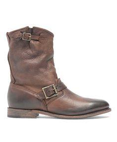 Vintage Calfskin Pull-On Boot Dark Brown - Brooks Brothers