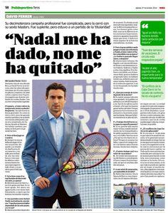 David Ferrer, interview