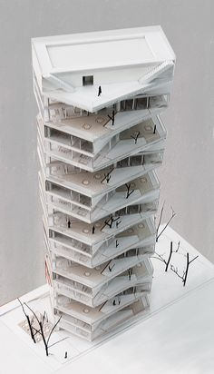 Writhing Tower | LYCS Architecture | Archinect