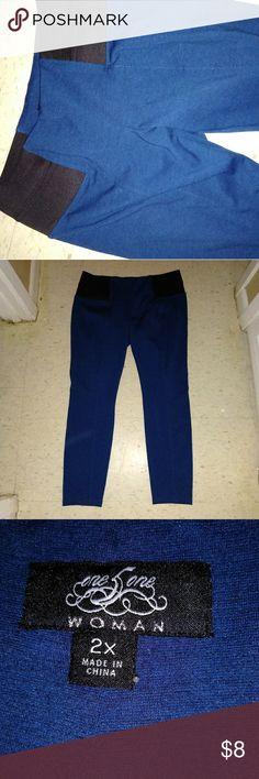 Pixie pants From torrid. Size 2. Teal color. Great shape. No dryer. Skinny fit. torrid Pants