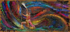 African bricks for Sasi's by Charis Tsevis - Art People Gallery