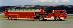 1960 American LaFrance 100' Tractor Drawn Aerial Truck.