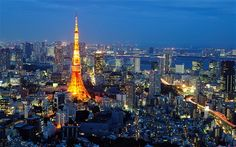 Tokyo Skytree tower - I would love to go to Japan....