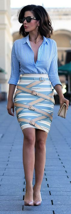 STRAP-SKIRT // Summer Outfit Idea By Short Stories and Skirts