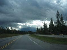 Tur til Canada - British Columbia: Clearwater – en regnfuld dag på vej til Wells Gray Park