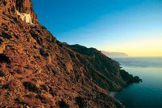 Hozoviotissa monastery at Amorgos Island, Greece