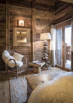 Location vacances chalet Le Grand-Bornand: suite parentale 2 chalet des envers